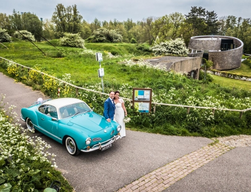 Paviljoen Puur Diemen trouwen met Barry en Esther